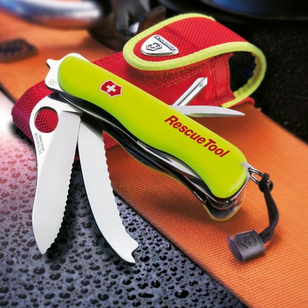 Victorinox Rescue Tool Das Rettungsmesser F 252 R Feuerwehr